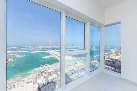 3 Bedroom Apartment for Rent in Dubai Marina, Dubai - Full sea view   High floor   Vacant