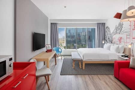 شقة فندقية  للايجار في واحة دبي للسيليكون، دبي - Limited summer offer first 2 months free - furnished and serviced Studio Apartments