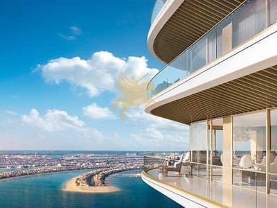 شقة 3 غرف نوم للبيع في دبي هاربور، دبي - شقة في جراند بلو تاور1 لإيلي صعب إعمار الواجهة المائية دبي هاربور 3 غرف 5700000 درهم - 5177392