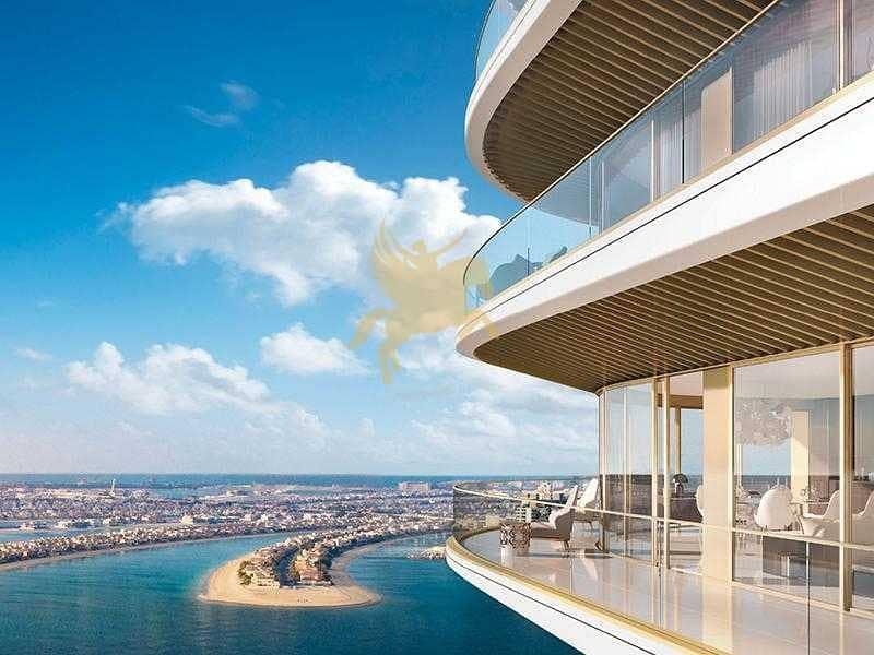 شقة في جراند بلو تاور1 لإيلي صعب إعمار الواجهة المائية دبي هاربور 3 غرف 5700000 درهم - 5177392