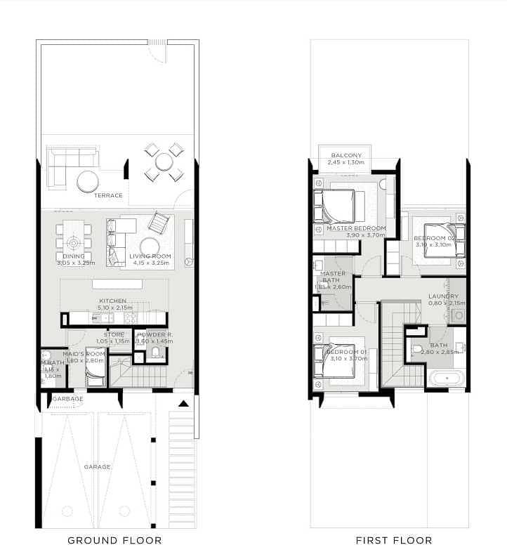10 Stunning 3 Bedroom Villa in The Valley by Emaar