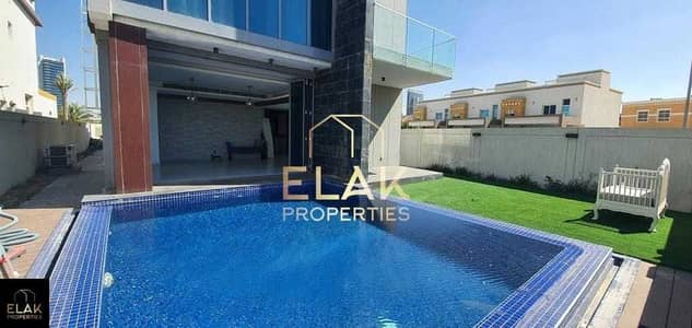 7 Bedroom Villa for Sale in Al Barsha, Dubai - Stand Alone   Huge Fully Furnished   Pool View