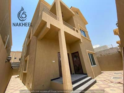 5 Bedroom Villa for Sale in Al Mowaihat, Ajman - New villa, excellent location, steps from the main street, at an opportunity price