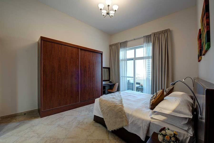 10 Monthly  Rental Fully Furnished Monthly Rental  fully serviced One Bedroom Apartment
