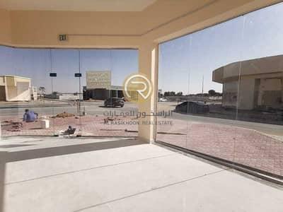 محل تجاري  للايجار في الزاهية، عجمان - محل | شهر مجداني | موقع مميز | تسهيلات بالدفع