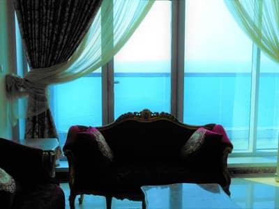 3 Bedroom Apartment for Rent in Corniche Ajman, Ajman - FULL SEA VIEW THREE BEDROOM BRAN NEW BUILDING  AT AJMAN BEACH