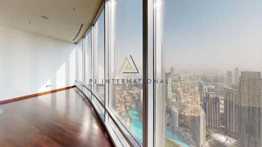 شقة 2 غرفة نوم للبيع في وسط مدينة دبي، دبي - On Higher Floor | Stunning 2 Bedrooms + Maids | Downtown and Fountain Views | Burj Khalifa