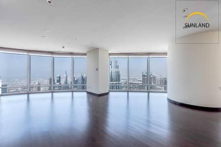 شقة 3 غرف نوم للبيع في وسط مدينة دبي، دبي - Largest 3 Bedroom - Full Sea View