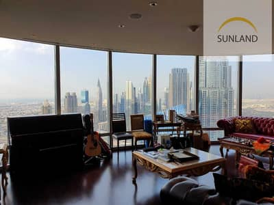 فلیٹ 3 غرف نوم للبيع في وسط مدينة دبي، دبي - 3 Bedroom large Sea View - ready to move in