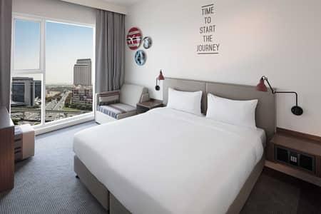 1 Bedroom Hotel Apartment for Rent in Bur Dubai, Dubai - Modern Serviced Hotel Room In Oud Metha