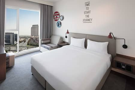 1 Bedroom Hotel Apartment for Rent in Bur Dubai, Dubai - Serviced Hotel Room In Oud Metha Inclusive of Daily Breakfast