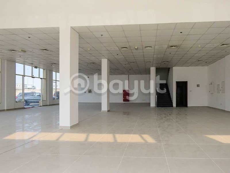 BRAND NEW EXCLUSIVE SHOWROOM AVAILABLE FOR RENT IN INDUSTRIAL AREA 18 SHARJAH