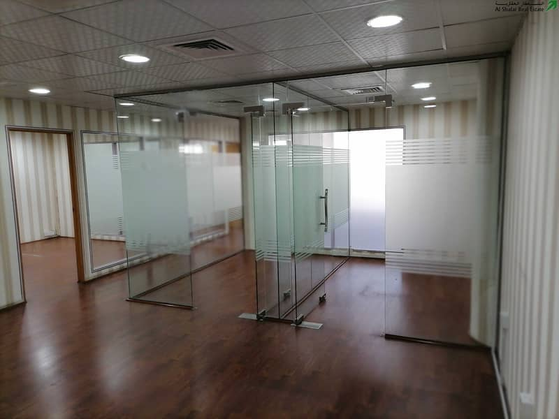 2 No Commission | Maintenance Free | Near Metro | Fitted Office