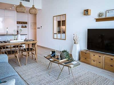 1 Bedroom Flat for Sale in Dubai Marina, Dubai - Well Lit Living Room