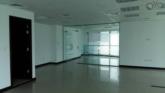 مکتب  للايجار في أبراج بحيرات الجميرا، دبي - Fully Fitted with Glass Partition