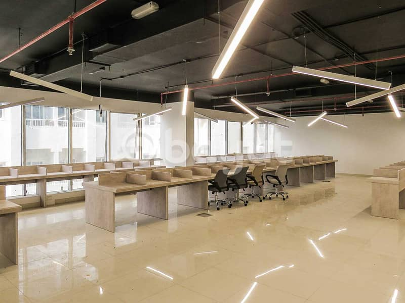AFFORDABLE OFFICES FOR RENT AT JUST 5000 AED ONLY (BUSINESS CENTER)