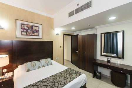 1 Bedroom Apartment for Rent in Al Barsha, Dubai - Spacious 1BHK! Inclusive Of All Bills! Close To MOE!Zero Commission! Free Cleaning