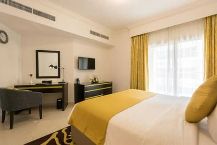 1 Bedroom Hotel Apartment for Rent in Al Barsha, Dubai - Brand New 1BHK! All Inclusive ! No Hidden Charges