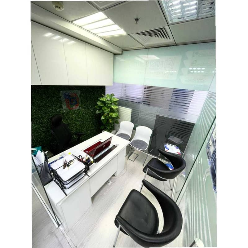 12 FLEXI OFFICE OPTIONS @ 8000 AED ONLY