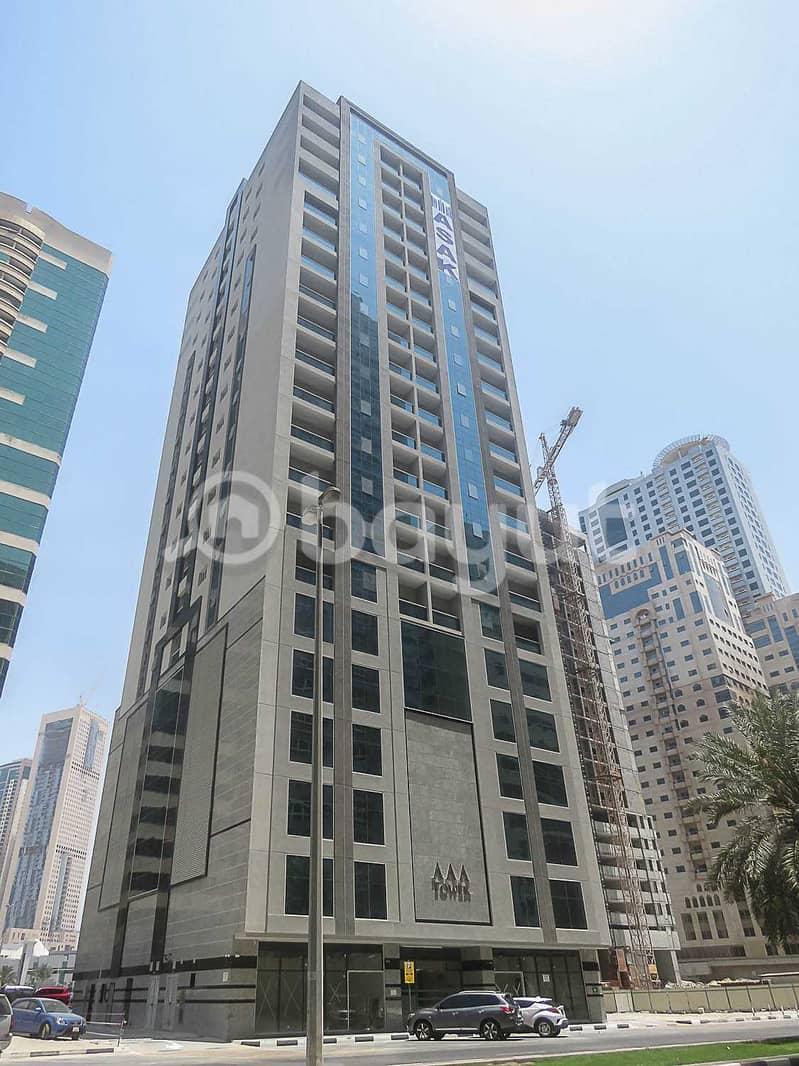 شقة في برج AAA الخان 1 غرف 26000 درهم - 5158238