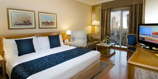 2 Bedroom Flat for Rent in Sheikh Zayed Road, Dubai - CLOSE TO METRO WITH SEA VIEW | FULLY FURNISHED | ALL BILLS INC