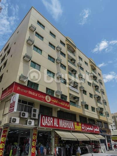 شقة 1 غرفة نوم للايجار في الغوير، الشارقة - شقة في بناية برج الرولة الغوير 1 غرف 19000 درهم - 5138670