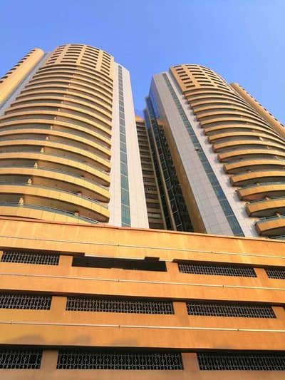 2 Bedroom Flat for Rent in Ajman Downtown, Ajman - 2BHK For Rent in Horizon Tower Yearly