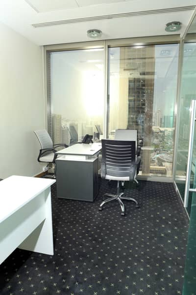 Office for Rent in Sheikh Zayed Road, Dubai - FURNISHED OFFICES NEAR DIFC