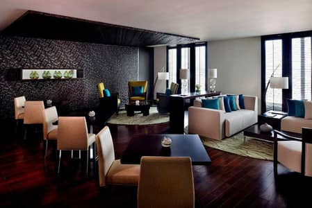 3 Bedroom Hotel Apartment for Rent in Bur Dubai, Dubai - Resident Lounge