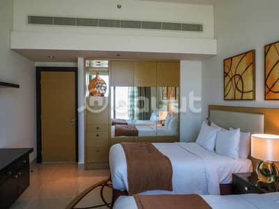2 Bedroom Hotel Apartment for Rent in Bur Dubai, Dubai - Two Double Bedroom