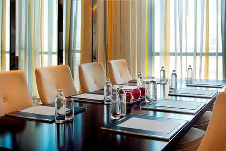 3 Bedroom Hotel Apartment for Rent in Bur Dubai, Dubai - Meeting Room
