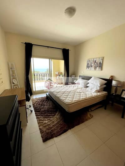 1 Bedroom Apartment for Rent in Al Hamra Village, Ras Al Khaimah - 1BHK Marina View Furnished Apartment with Large Balcony