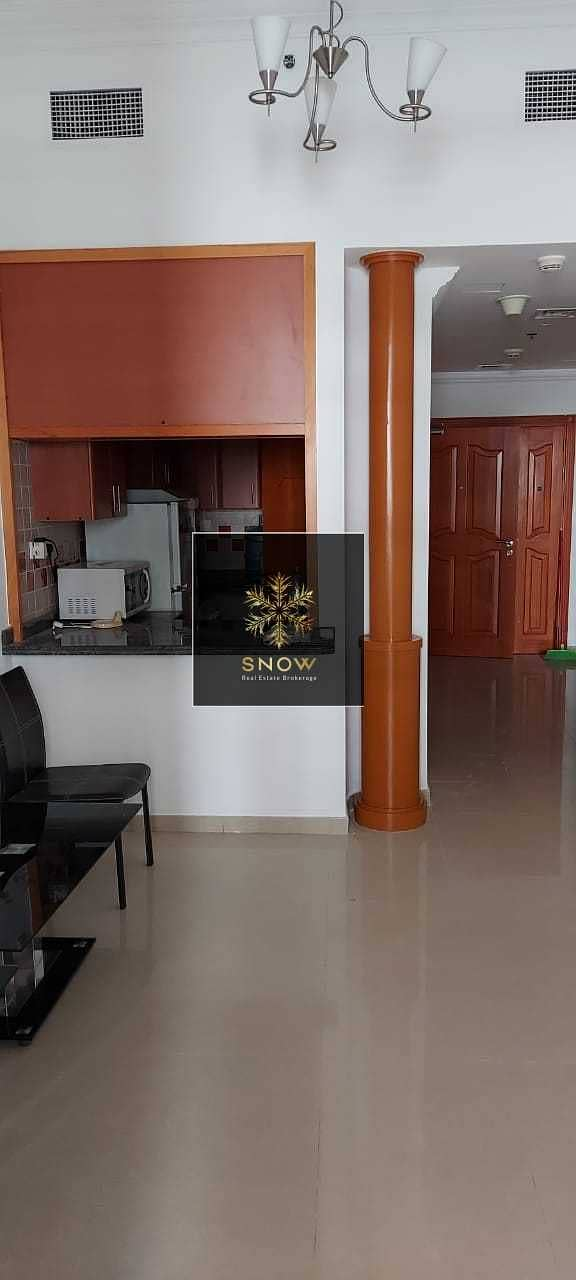 Chiller free 1BHK with massive balcony