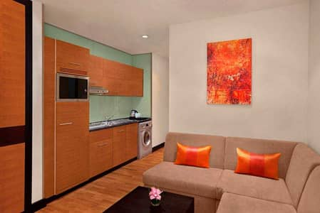 Hotel Apartment for Rent in Al Barsha, Dubai - DoubleTree by Hilton / Fully furnished Studio - NO COMMISSION