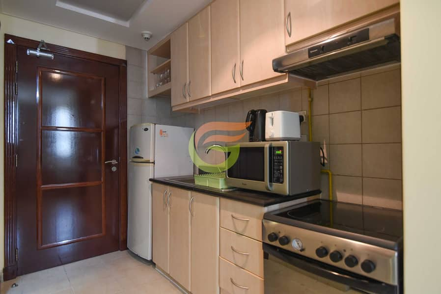 Full furnished Studio for rent in Discovery garden(bills included)