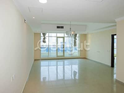 3 Bedroom Flat for Rent in Al Khan, Sharjah - 2 MONTHS FREE !!!!! CHILLER FREE!!!!! | 3 BHK + MAID ROOM | UNFURNISHED | MAINTENANCE/PEST CONTROL FREE|