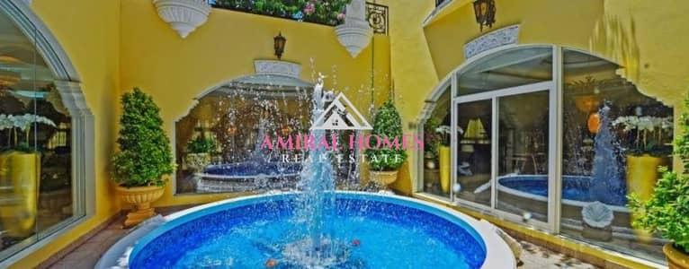 6 Bedroom Villa for Sale in Al Barsha, Dubai - Luxury Villa   Designer Fitting   Best location  