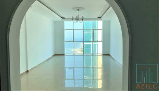 2 Bedroom Apartment for Rent in Corniche Ajman, Ajman - Wonderful 2BHK With Maid Room - Amazing Sea & City View