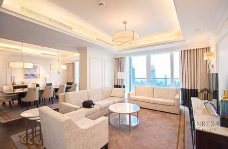 4 Bedroom Penthouse for Sale in Downtown Dubai, Dubai - Sky Collection Penthouse | Stunning Fountain View