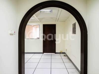 Office for Rent in Al Khalidiyah, Abu Dhabi - Fantastic Mezzanine Office space for lease in the heart of Khalidyah