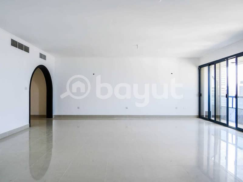 29 Direct From the Owner -NO COMMISION !Modern Three Bedrooms plus Maid Room Apartment