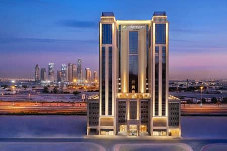 شقة فندقية 1 غرفة نوم للايجار في الجداف، دبي - Exterior View
