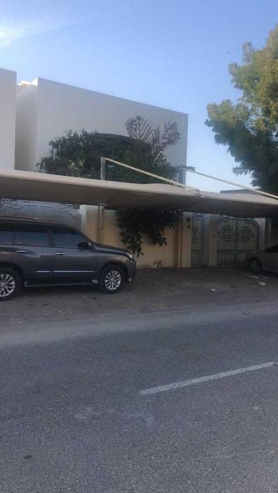 فیلا 6 غرف نوم للايجار في الميدان، أم القيوين - Villa for rent in Umm Al Quwain, directly on the sea