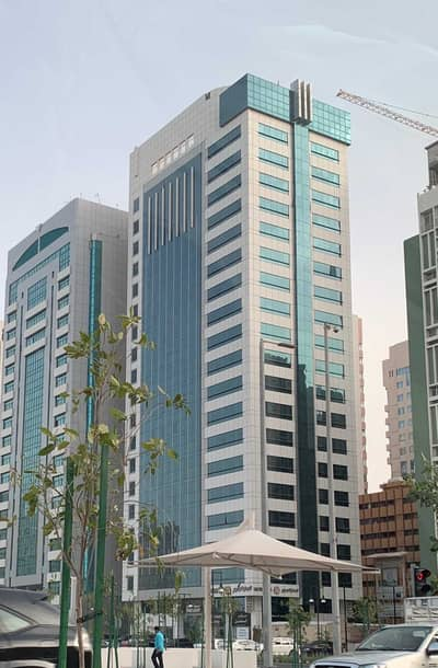 1 Bedroom Apartment for Rent in Tourist Club Area (TCA), Abu Dhabi - 1BR apartment in TCA with Sea View