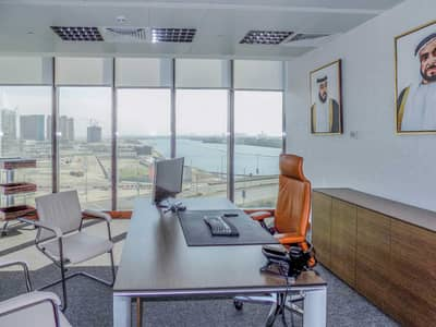 Office for Rent in Al Reem Island, Abu Dhabi - Corner and spacious office direct from landlord