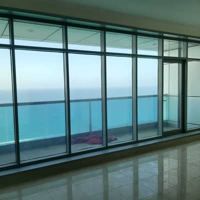 3 Bedroom Apartment for Rent in Corniche Ajman, Ajman - 3 Bedrooms Duplex For Rent With Beach View ( 2 Balcony ) Brand New . . .