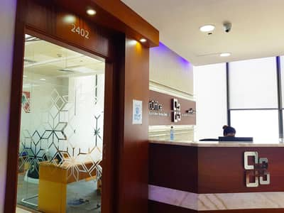 Office for Rent in Al Reem Island, Abu Dhabi - GREAT OFFICE VIEW - FULLY FURNISHED