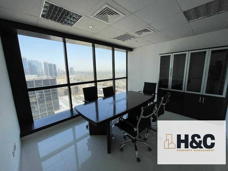 High floor | Partition | Emirate living view