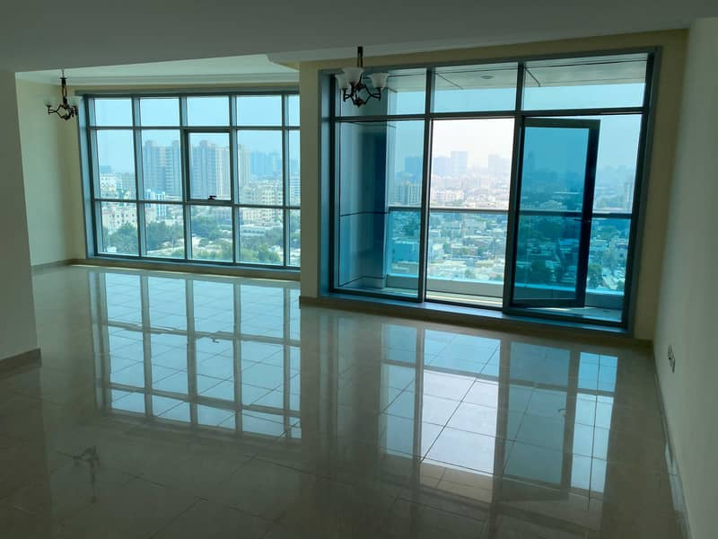 ZERO Down payment and move in same day Luxury & Spacious Apartment in Ajman Corniche Residence.