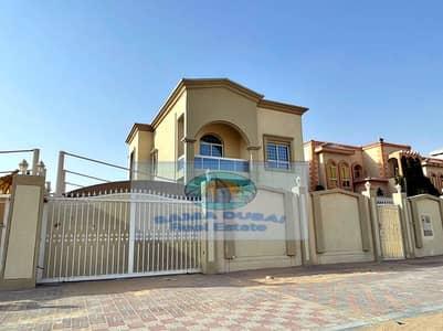 Brand New 5-Bedroom Villa for rent   2 hall 2 majlis   Big Hosh  2 kitchens   5 Master Rooms in Al Rawda Ajman